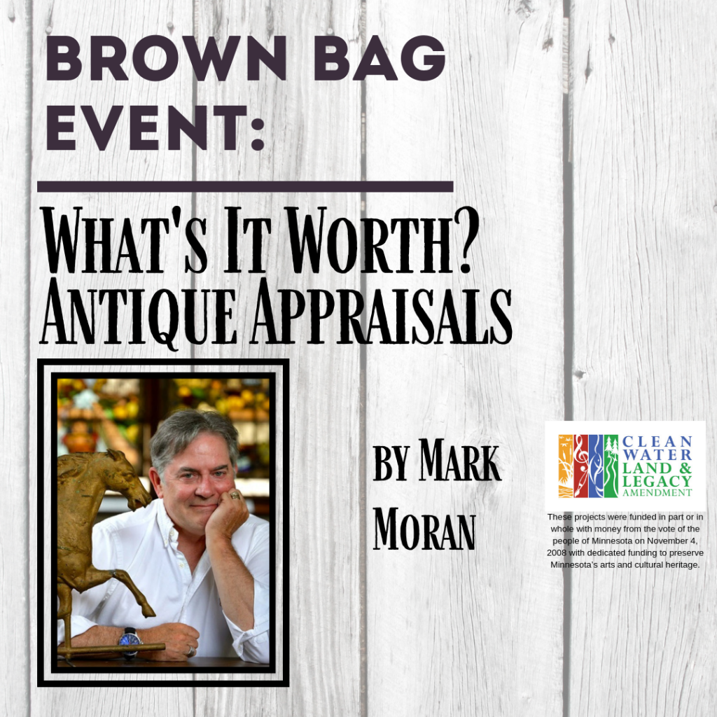 Whats It Worth >> Brown Bag Event What S It Worth Antique Appraisals By Mark