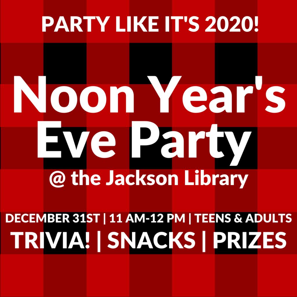 Thumbnail Noon Year's Kickoff Party